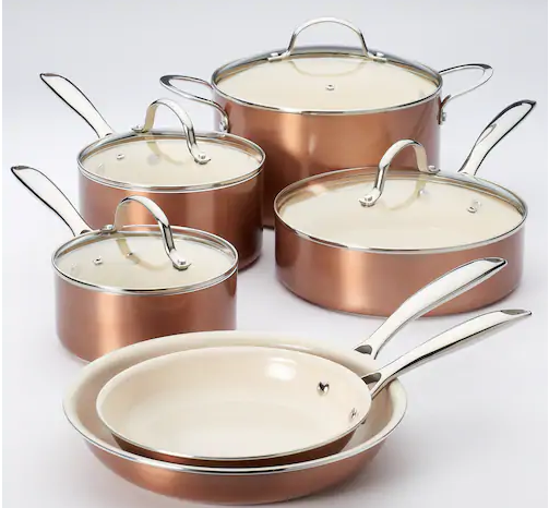 Who Should Win the Food Network™ 10-pc. Nonstick Ceramic Copper Cookware Set?